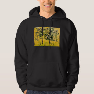 TWO LEGS CITY HOODED PULLOVERS