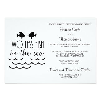 Fish theme invitations announcements zazzle for Fishing wedding invitations