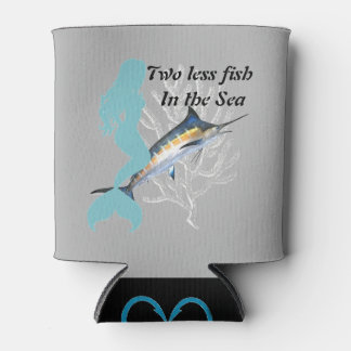 Wedding date can coolers zazzle for Two less fish in the sea