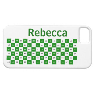 Two Letter Words  Green and white US version iPhone SE/5/5s Case