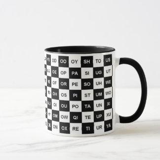 Two letter words (Intl version) Mug