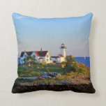 Two Lighthouse Beauties Throw Pillow
