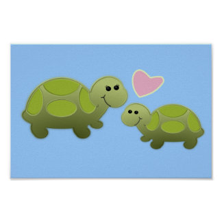Two Lil Turtles/Nursery Decor