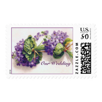 Two Lilac Flower Bouquets Special Occasion Postage