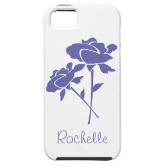 Two Lilac Roses+Personalize Name iPhone 5 Covers
