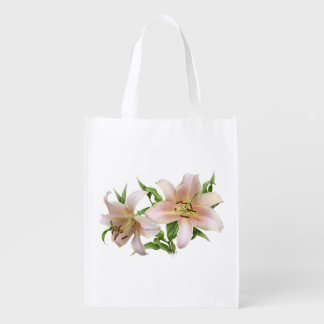 Two Lilies Grocery Bag