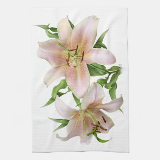 Two Lilies Towel