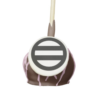 Two lines, encircled cake pops