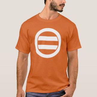 Two lines in circle T-Shirt