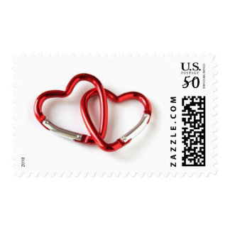 Two Linked Hearts Postage