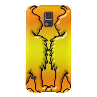 Two lions facing each other galaxy s5 case