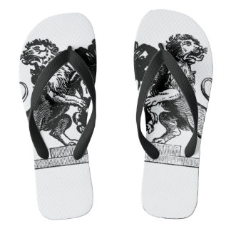 Two Lions Slippers Flip Flops