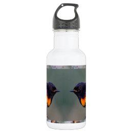 Two little American cute Birds - Kids Fancy Shirts Water Bottle