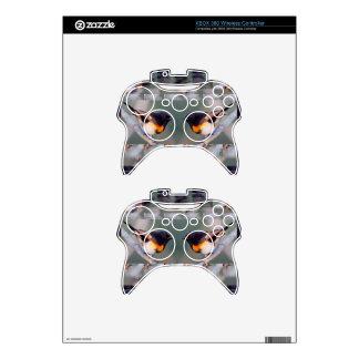 Two little American cute Birds - Kids Fancy Shirts Xbox 360 Controller Skins