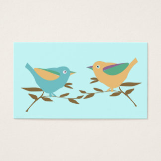 Two little birds business card