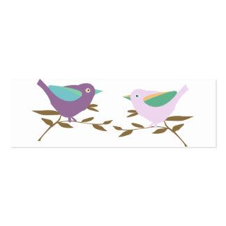 Two little birds mini business card