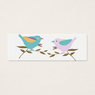 Two little birds mini business card