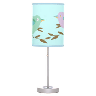 Two little birds table lamp