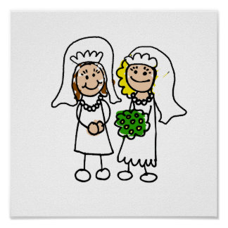 Two Little Brides Poster