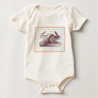 Two Little Bunny Rabbits - Baby Wear Baby Bodysuit