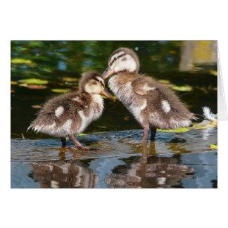 Two Little Duckies Card