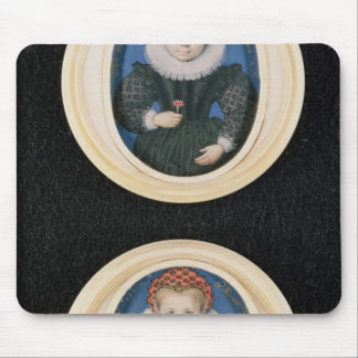 Two Little girls, 1590 Mouse Pad