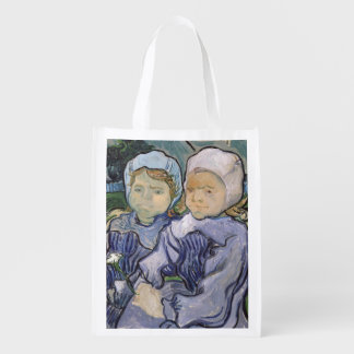 Two Little Girls, 1890 Market Totes