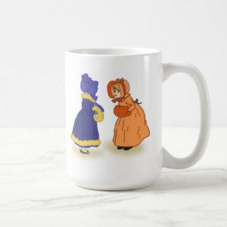Two little girls mug