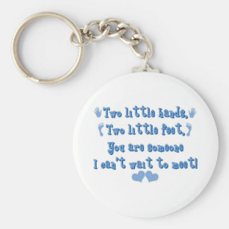 Two Little Hands Keychain