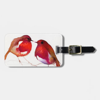 Two Little Ink Birds 2014 Luggage Tag