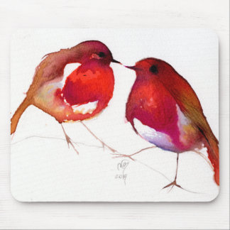 Two Little Ink Birds 2014 Mouse Pad