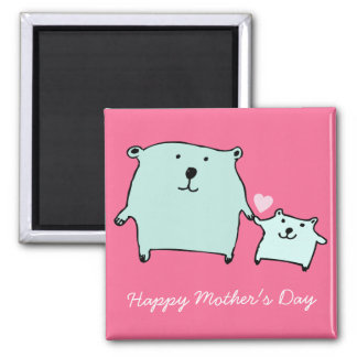 Two Little Love Bears Mother's Day Magnet