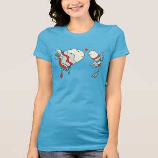 Two Little Love Fish Tee