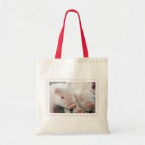 Two Little Piggies Tote Bag