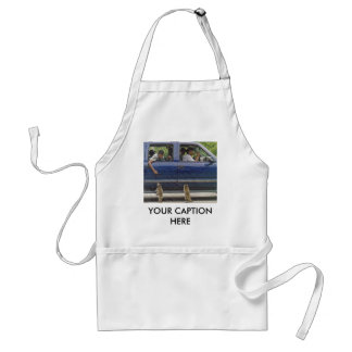 TWO LITTLE RACCONS APRON