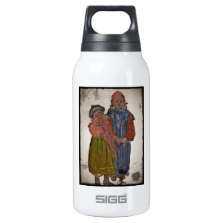 Two Little Sisters 1906 Insulated Water Bottle