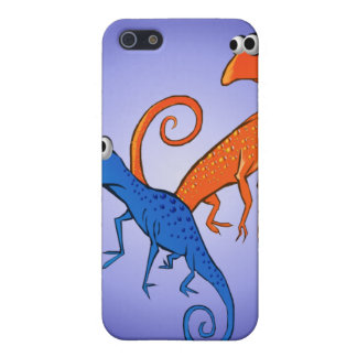 Two Lizards_ Hard Shell iPhone SE/5/5s Case