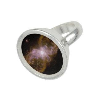 Two-Lobed Planetary Nebula Hubble 5 Photo Rings