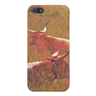 Two Longhorns iPhone case. Case For iPhone SE/5/5s