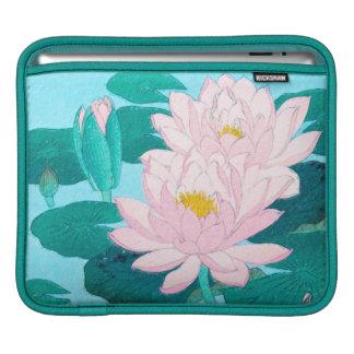 Two Lotus Flowers iPad Sleeve