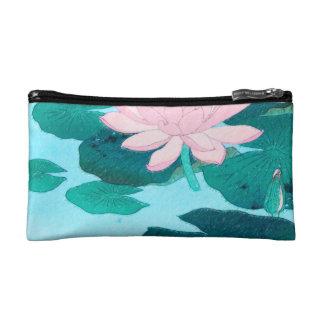 Two Lotus Flowers Makeup Bag