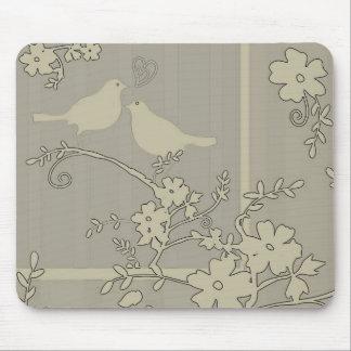 Two Love Birds ~ Mousepad