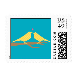 Two Lovebirds Postage