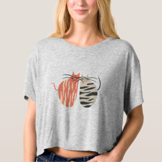 Two Lovely Cats  Women's T-shirts