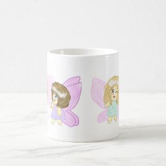Two Lovely Fairy Best Friends Coffee Mug