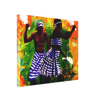 TWO LOVER 2, MOJISOLA  A GBADAMOSI OKUBULE PAIN... CANVAS PRINT