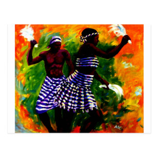 Two Lover By MOjisola A Gbadamosi  Okubule Postcard