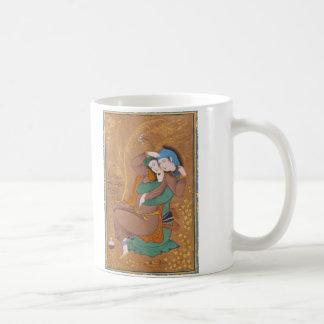 Two Lovers by Reza Abbasi (1630) Coffee Mug