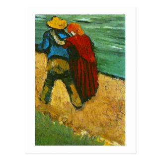 Two Lovers (Fragment), Van Gogh Fine Art Postcard