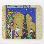Two Lovers in a Flowering Orchard Mouse Pad